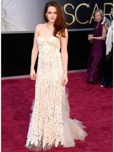 Kristen Stewart in Reem Acra gown