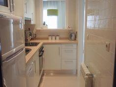 Muitas idéias bonitas e confortáveis para uma pequena cozinha perfeita