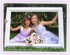 wedding photo props | WEDDING PICTURE FRAMES Wedding Photo Booth Props -Fits 36 x 24 Custom ...