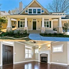Architectural Designs Bungalow House Plan 18266BE built in Texas. Around 1,900 square feet. Ready when you are. Where do YOU want to build?