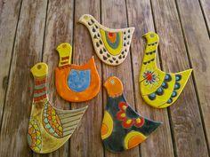 Aves de Cerámica para decorar!!!!!