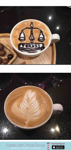 Coffee art --  Image pinned via the 'PhotoTower for Pinterest' iOS app! Create unique collections of tall images for your Pinterest followers. Download the app for FREE from the App Store: http://www.phototowerapp.com #PhotoTower
