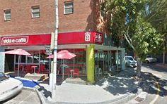 The location and the mordern design of Vida e caffé store. Coffee, Store, Outdoor Decor, Life, Design, Home Decor, Coffee Cafe, Decoration Home, Kaffee