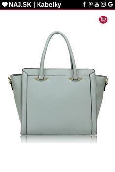Trendy kabelka do ruky Anastasia modrá AG00516 Trendy, Bags, Fashion, Handbags, Moda, Fashion Styles, Fashion Illustrations, Bag, Totes