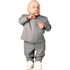 I shall call him Mini Me. Bring home a life size version of Dr. Evil's clone Mini-me. This standee measures…