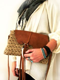 Great handmade Boho Bag by Franellie on Etsy
