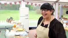 """Claire Goodwin, a """"Great British Bake Off"""" contestant, has blogged about being targeted by fat-shamers on Twitter."""