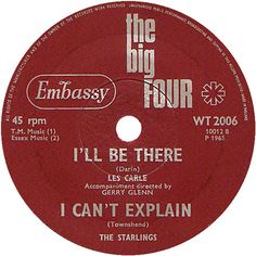 The Big Four (I'll Be There / I Can't Explain - Les Carle / The Starlings (WT2006) Apr '65