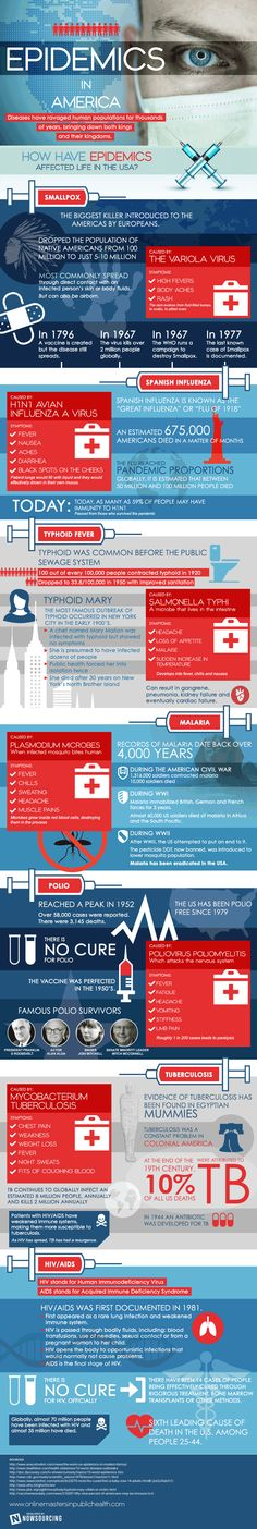 This infographic provides a deeper look into how epidemics have affected life in the US.