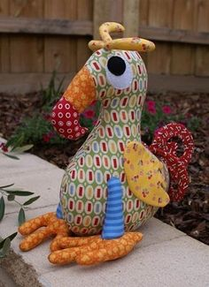 """""""Dudley"""" designed by Melanie McNeice for Melly & Me."""