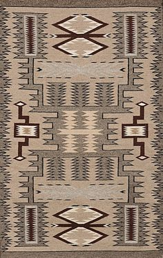 674. Description: Navajo Contemporary Storm Pattern Weaving, 65 x 41, hand woven wool, southwestern Native American rug Condition: Very good Size: 65 x 41. --------------- Find more rugs and pottery from the American Southwest here: