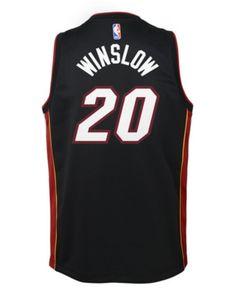 Nike Justise Winslow Miami Heat Icon Swingman Jersey d22678558