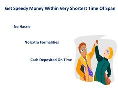 Same Day Cash Loans - Magnificent Approach For Availing Required Finances!