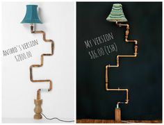 amazing anthro inspired lamp ... this would be so cool in a teen's room