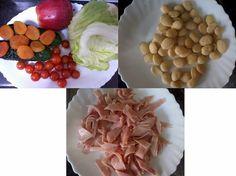Receitas de cozinha: Receita de salada com damasco e maçã