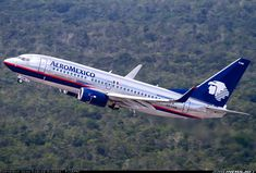 AeroMexico   Boeing 737-752. Más sobre Aeroméxico en http://aerolineasmexicanas.mx/lista-de-aerolineas-mexicanas/aeromexico-historia-y-datos #aeromexico #aerolineasmexicanas #aviones #mexico