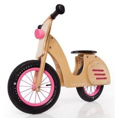If our little one is a girl, this is a must have!  What little girl doesn't need a wooden Vespa? This is awesome