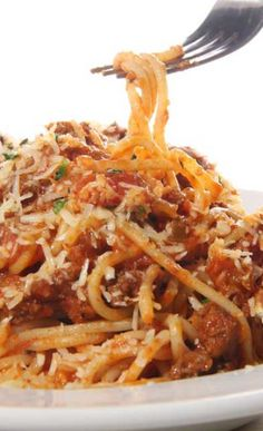 Dinner idea? Slow Cooker Skinny Spaghetti with whole wheat pasta