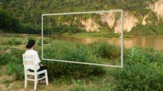 The framed landscape | Quan Hoa, Vietnam | Duc Cuong Ha #landscape #installation #vietnam