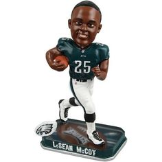 LeSean McCoy Philadelphia Eagles Springy Logo Bobblehead Figurine