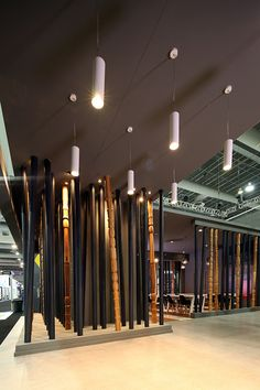 Stand Bambu in Mexico by Local 10 Arquitectura México City, Track Lighting, Mexico, Ceiling Lights, Commercial, Home Decor, Stand Design, Cabinets, Entryway