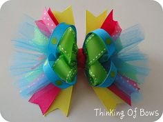Colorful Girly Hairbow