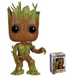 Funko POP! Movies Guardians of the Galaxy Groot Extra Mossy 49 Vinyl Figure