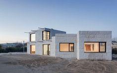 Ultra Modern Triangular VMS Minimalist House