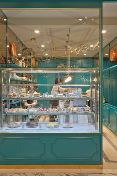 bakery | blue light