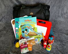 Bag of Tricks for Entertaining a Toddler on a Plane