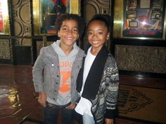 Skai Jackson Boyfriend | young stars skai jackson terrell ransom jr and trevor jackson were all ...