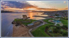 Broughty Ferry castle  view