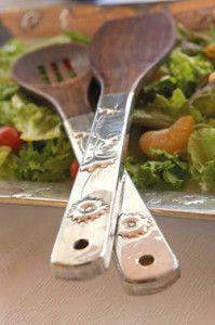 Creative Company | Pewter it – Salad servers Creative Company, Pewter, Craft Projects, Salad, Tableware, Gifts, Tin Metal, Presents, Dinnerware