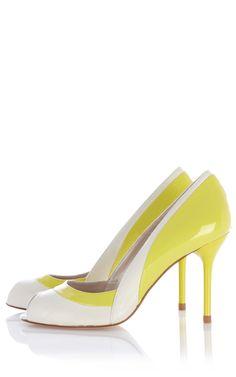 Туфли из кожи Karen Millen. Цвет , купить за 7058р в официальном интернет магазине KAREN MILLEN с доставкой по России