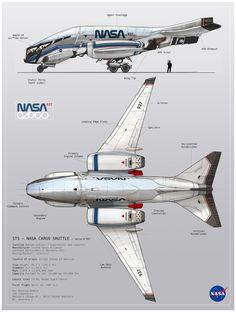 ArtStation - NASA cargo - tech sheet, Oscar Cafaro