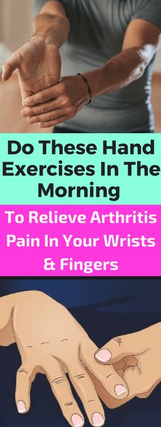 Remedies To Relief Pain Do These Hand Exercises In The Morning to Relieve Arthritis Pain In Your Wrists and Fingers - seeking habit Prevent Arthritis, Yoga For Arthritis, Juvenile Arthritis, Arthritis Exercises, Natural Remedies For Arthritis, Rheumatoid Arthritis Treatment, Knee Arthritis, Types Of Arthritis, Stretching Exercises