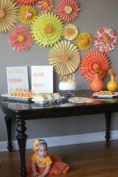 Design Improvised: A Sunshine Party