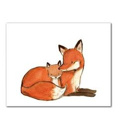 baby mine fox print - Google Search
