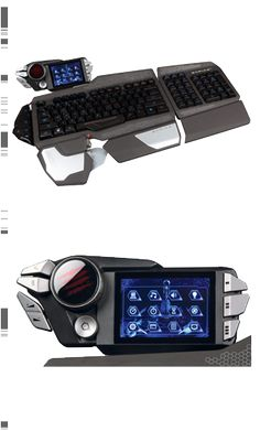 Mad Catz S.T.R.I.K.E. 7 Gaming Keyboard for PC