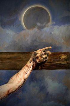 Jesus Christ Painting, Jesus Art, Jesus Our Savior, Christian Paintings, Christian Art, Catholic Art, Religious Art, Jesus Is Life, Crucifixion Of Jesus