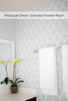 1000 Images About Stenciled Walls On Pinterest Stencils