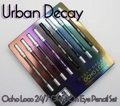 Urban Decay Ocho Loco 24-7 Glide-On Eye Pencil Set (you should buy this!!)