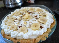 Banana Cream Pie for Anita's Birthday