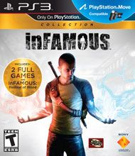 Infamous Collection (includes INfamous 1 & 2, Infamous Festival of Blood, Extra missions, etc. -- on PS3) (PURCHASED)
