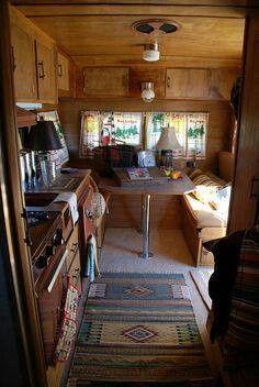 Love the rustic interior
