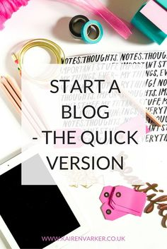 So You Want To Start A Blog http://www.kairenvarker.co.uk/blog/2016/06/17/want-start-blog/