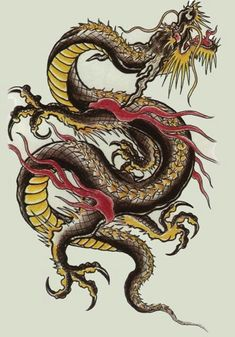Similar to Chinese dragons, with three claws instead of four. They are usually benevolent, associated with water, and may grant wishes.