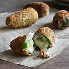 Mmmm...jalapeño poppers. Saving this recipe for our garden next summer!