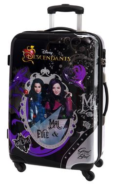 Maleta Live hevil tamaño mediano de los Descendientes, una maleta de viaje con gran capacidad, ideal para regalar Descendants Wicked World, Disney Channel Descendants, Descendants Costumes, Descendants Cast, Descendants Characters, Dreamworks, Disney Princess Pictures, Shopping World, Dove Cameron