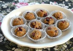 Nut butter and seed energy balls